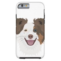 Case-Mate Barely There iPhone 6 Case with Collie Phone Cases design
