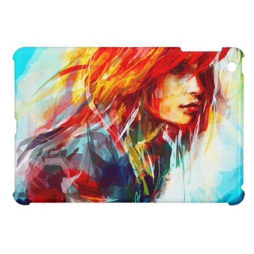 illustration laddies iPad mini covers