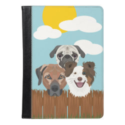 iPad Air Folio Case by Ivoke with Collie Phone Cases design