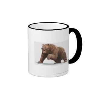 Illustration of a Brown bear Mug
