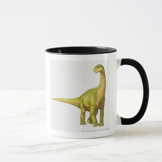 Illustration of a Camarasaurus Mug
