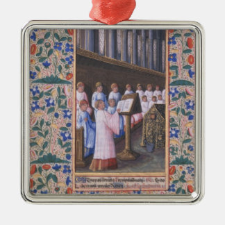 Illustration of a funeral service christmas tree ornament