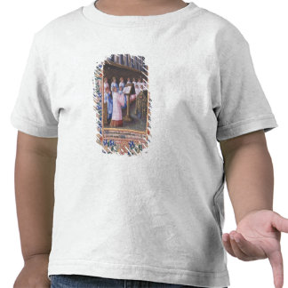Illustration of a funeral service tee shirts