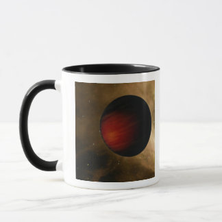 Illustration of a hot Jupiter called HD 149026b Mug