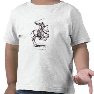 Illustration of a Knight Templar Tee Shirt