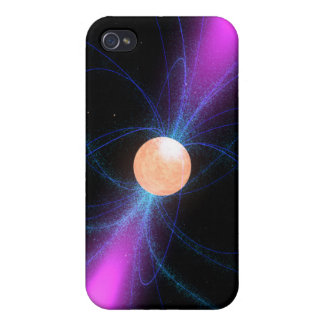 Illustration of a pulsar 2 iPhone 4/4S covers