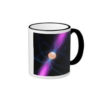 Illustration of a pulsar 2 ringer mug