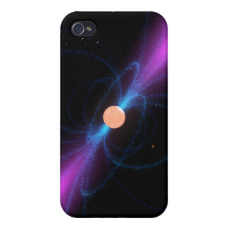 Illustration of a pulsar iPhone 4/4S cover