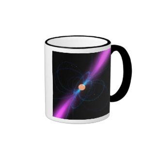 Illustration of a pulsar ringer mug
