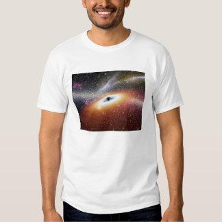 Illustration of a supermassive black hole shirt