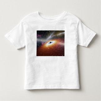 Illustration of a supermassive black hole toddler t-shirt