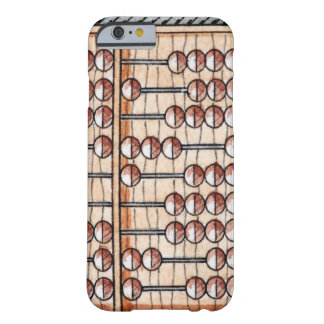 Illustration of abacus barely there iPhone 6 case