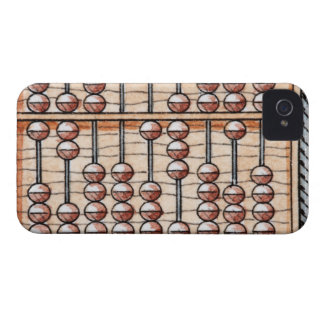 Illustration of abacus iPhone 4 case