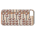 Illustration of abacus iPhone 5 case