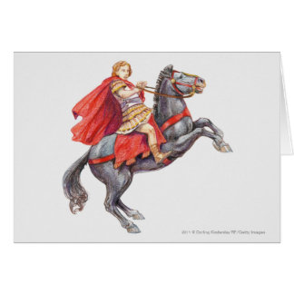 Illustration of Alexander the Great Card