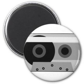 illustration of audio cassette 2 inch round magnet