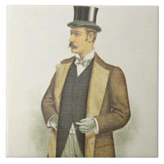 Illustration of British Costume, pub. by the John Ceramic Tile