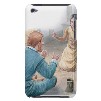 Illustration of Captain John Smith and Barely There iPod Covers