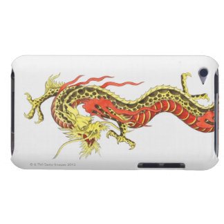Illustration of Chinese dragon Barely There iPod Case