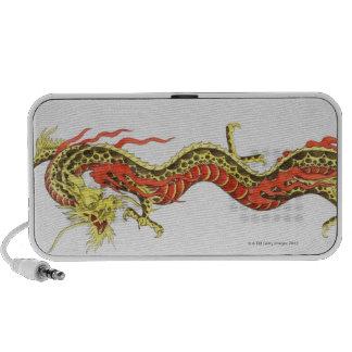 Illustration of Chinese dragon Mini Speaker