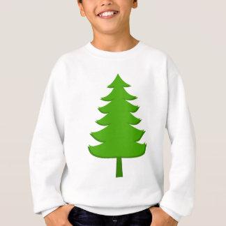 Illustration of  christmas tree sweatshirt