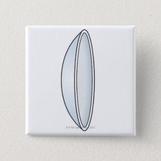 Illustration of Contact Lens Button