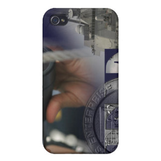 Illustration of crew members iPhone 4 cover