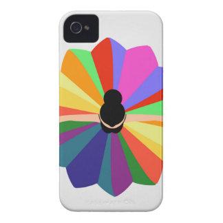 illustration of dancing ballerina iPhone 4 case