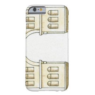 Illustration of early 4th century Arch of Janus Barely There iPhone 6 Case