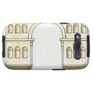 Illustration of early 4th century Arch of Janus Samsung Galaxy SIII Cases