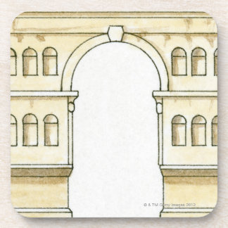 Illustration of early 4th century Arch of Janus Coaster