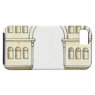Illustration of early 4th century Arch of Janus iPhone SE/5/5s Case