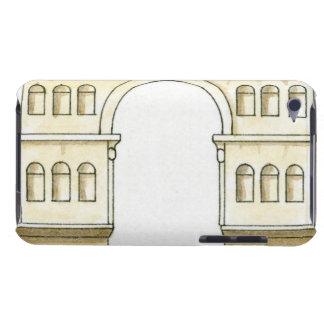 Illustration of early 4th century Arch of Janus iPod Touch Case-Mate Case