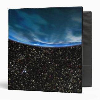 Illustration of Earth's horizon Binder