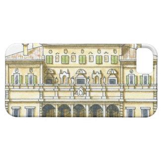 Illustration of facade of 17th century Galleria iPhone 5 Cases
