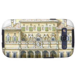 Illustration of facade of 17th century Galleria Samsung Galaxy SIII Case