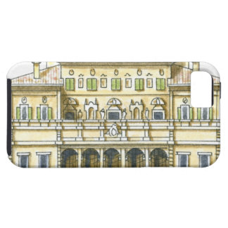 Illustration of facade of 17th century Galleria iPhone 5 Covers