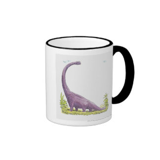 Illustration of Giraffatitan dinosaur Coffee Mug