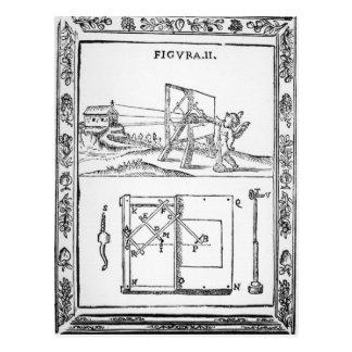 Illustration of Giulio Troili's idea Postcard