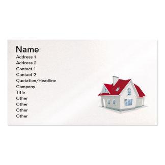 illustration-of-house1, nombre, dirección 1, direc tarjetas de visita