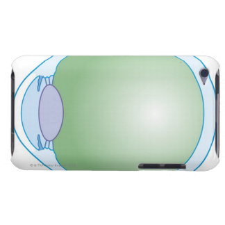 Illustration of Human Eye iPod Touch Case