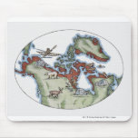 Illustration of Inuit territory Mouse Pad