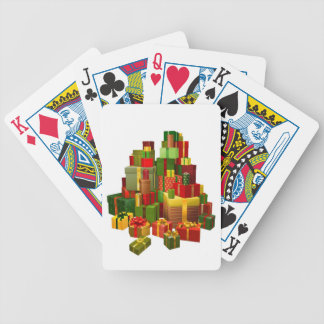 Illustration of large pile of gifts card deck