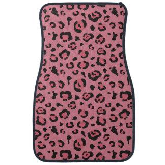 Illustration of Leopard Pink Animal Floor Mat