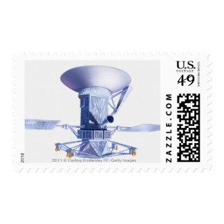 Illustration of Magellan spacecraft Postage