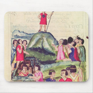 Illustration of Manco Capac Mouse Pad