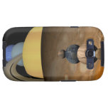 Illustration of Nine Planets in the Solar System Samsung Galaxy SIII Cover