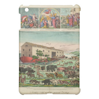 Illustration of Noah s Ark and the General Deluge iPad Mini Cover