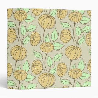 Illustration of pumpkins binder
