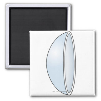 Illustration of Soft Contact Lens Magnet